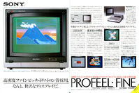 Image: Advert of Sony Displays